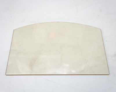 Replacement Glass - Fogo / Fogo Double Sided - MAIN PANEL ONLY - ST246B-12 / ST246BDV 300mm wide x 194mm *shaped*