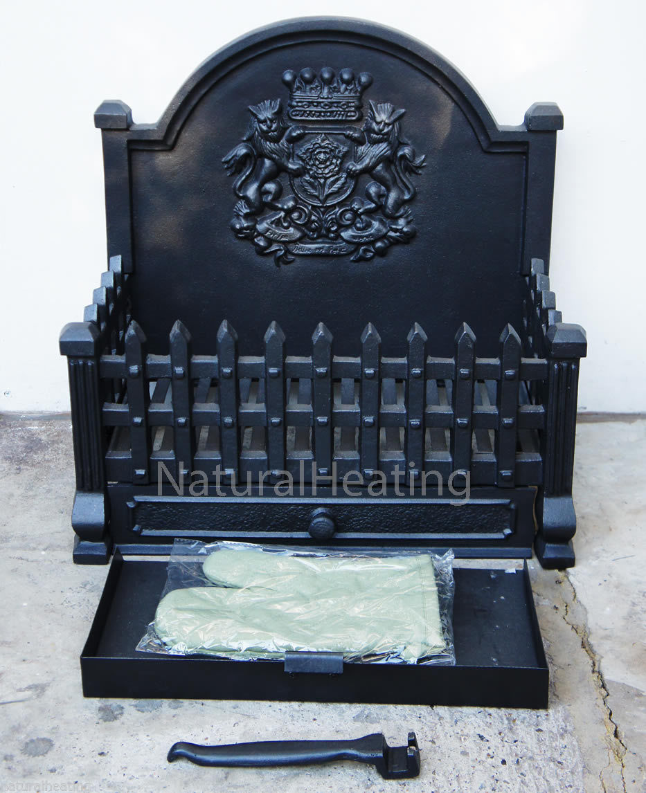 cast iron dog grates and fire baskets for open fires and fireplace