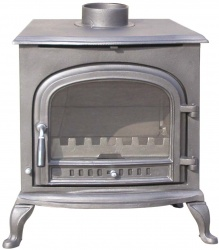 Classic Arch Cast Iron Multi Fuel and Wood Burning Stove - 9kw max (4.5 > 7.5kw output to room)