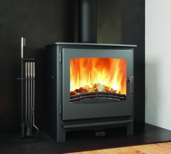 Broseley Desire 7 Multi Fuel and Wood Burning Stove - 7kw nominal, DEFRA Approved