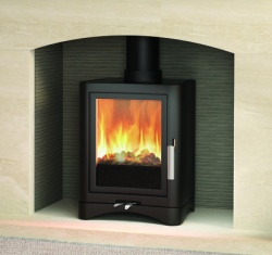 Broseley Evolution 5 Multi Fuel Stove and Wood Burning Stove - 5kw nominal