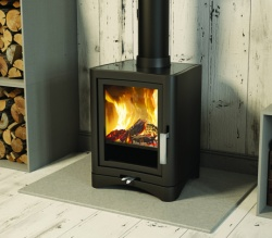 Broseley Evolution 5 DELUXE Multi Fuel Stove and Wood Burning Stove - 5kw nominal