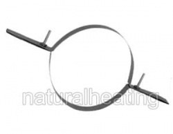 Top Clamp - 5 inch / 125mm - for Flexible Flue Chimney Liner