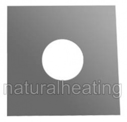 Top Plate (375mm2) - 6 inch / 150mm - for Flexible Flue Chimney Liner