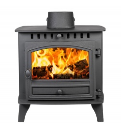 Hunter Herald 6 Single Door, Wood Burning Stove - 6.5kw nominal