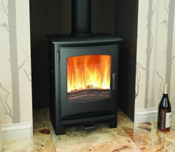 Broseley Ignite 5 Multi Fuel and Wood Burning Stove - 5kw nominal