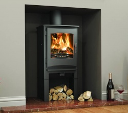 Broseley Ignite 5 With Logstore - Multi Fuel and Wood Burning Stove, 5kw nominal