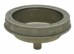 Tee Cap Plug with Drain - 5 inch / 125mm dia - Twin Wall Insulated Flue Pipe Eco ICID