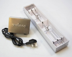 Thuros BUNDLE 2 - Rotisserie Motor and Skewer / Meat Hooks Kit (SPECIAL OFFER) *MUST ALREADY OWN WIND DEFLECTOR TO USE*