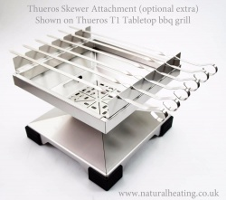 Thureos / Thuros Kebab Skewer Attachment - to fit T1 Tabletop Bbq Grill
