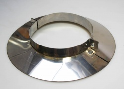 7 inch / 175mm dia - Stainless Steel Registry Trim Plate Collar