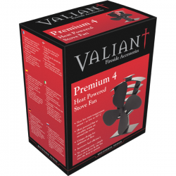 Valiant FIR361 Premium 4 / PremiAir Eco Heat Powered Stove Top Fan - 420cfm