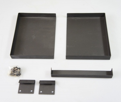Universal Ash Pan for Stoves and Fire Baskets - Standard (Adjustable 200 x 150 > 275mm)