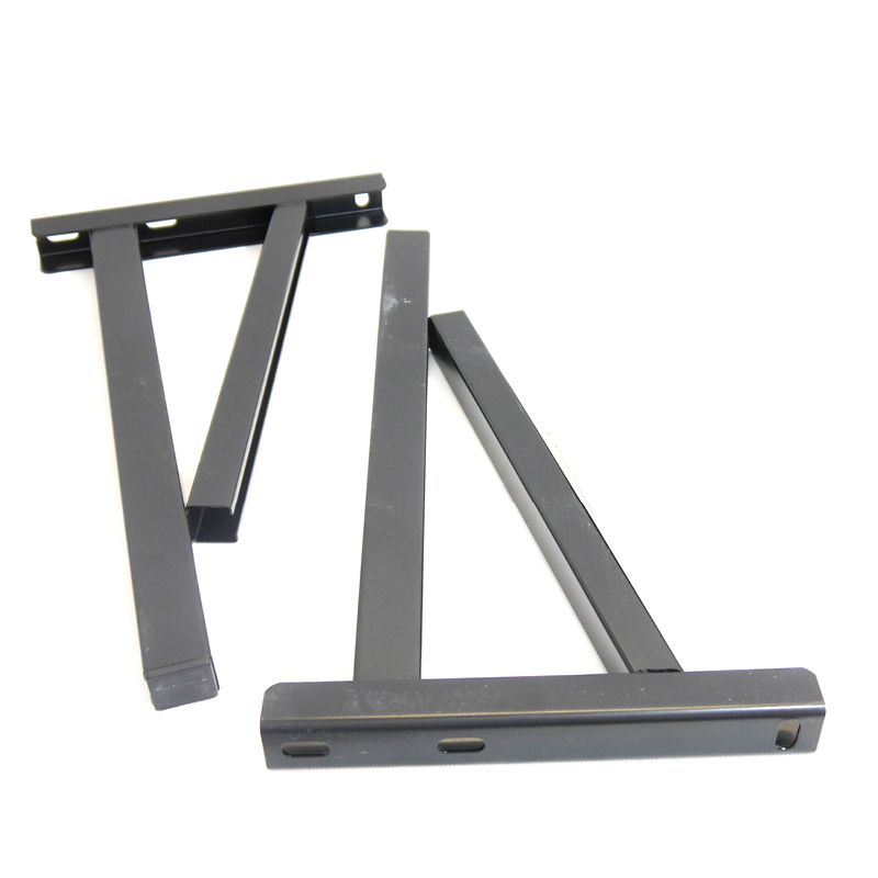 ICID Plus Pair Of Cantilever Supports Up To 570mm - Matt Black