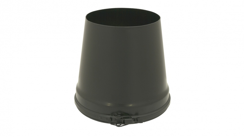 125mm Internal Diameter ICID Plus Taper Terminal - Matt Black