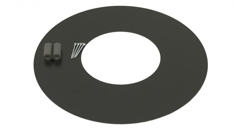 150mm Internal Diameter ICID Plus Magnetic Cover Ring - Black