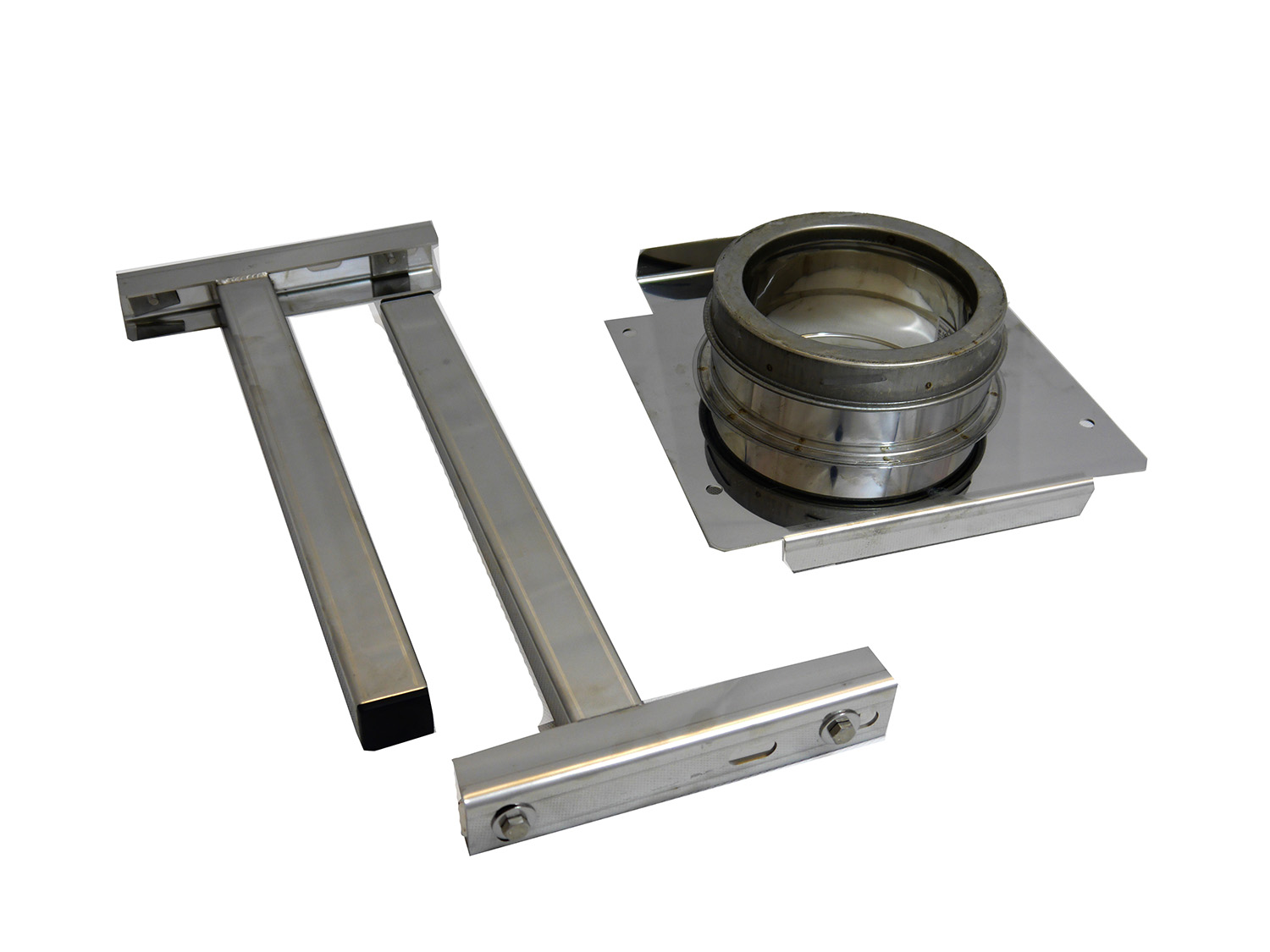 150mm Internal Diameter ICID Plus Adjustable Wall Support - 100mm Stand Off