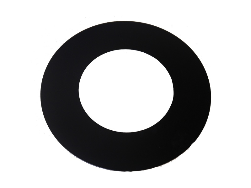 90° Trim Collar One Piece For 150mm Internal Diameter ICID Plus - Matt Black