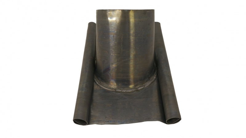 Lead Roof Flashing - 210mm Diameter (6'' ICID) - 45 Degree Roof Pitch