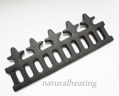 Cast Iron Wood Retaining Bar / Fence - Evergreen Buckingham Multi Fuel Stove Spares