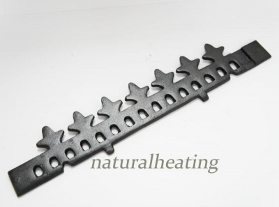 Cast Iron Wood Retaining Bar / Fence - Cathedral / Lambeth Multi Fuel Stove Spares