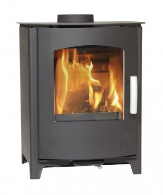 Mendip Churchill 8 SE MK4 Convection Multi Fuel Stove - DEFRA 8kw Eco Design Ready