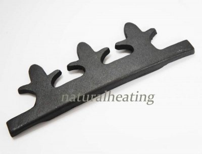 Cast Iron Coal Retaining Bar / Fence - Eltham Multi Fuel Stove Spares