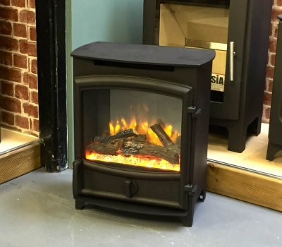 Charlton & Jenrick Fireline FX ELECTRIC Log / Wood Flame Effect Stove