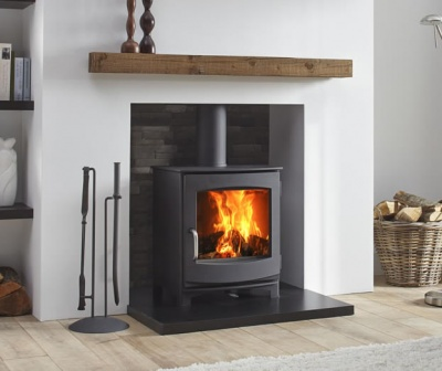 Dik Geurts Ivar 5, 5kw Wood Burning Stove - DEFRA Approved,  Eco Design 2022
