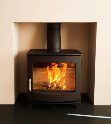 Dik Geurts - Ivar 8 Low, 8kw SE Wood Burning Stove DEFRA Approved, Eco Design 2022