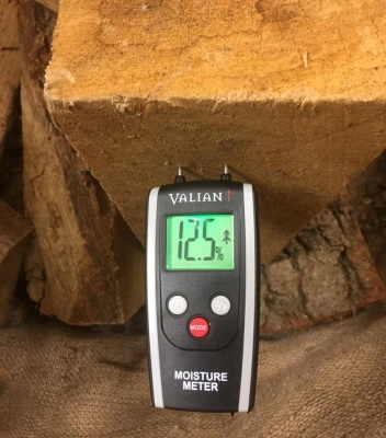Valiant Colour Change Moisture Meter - tells you when wood is ready to burn