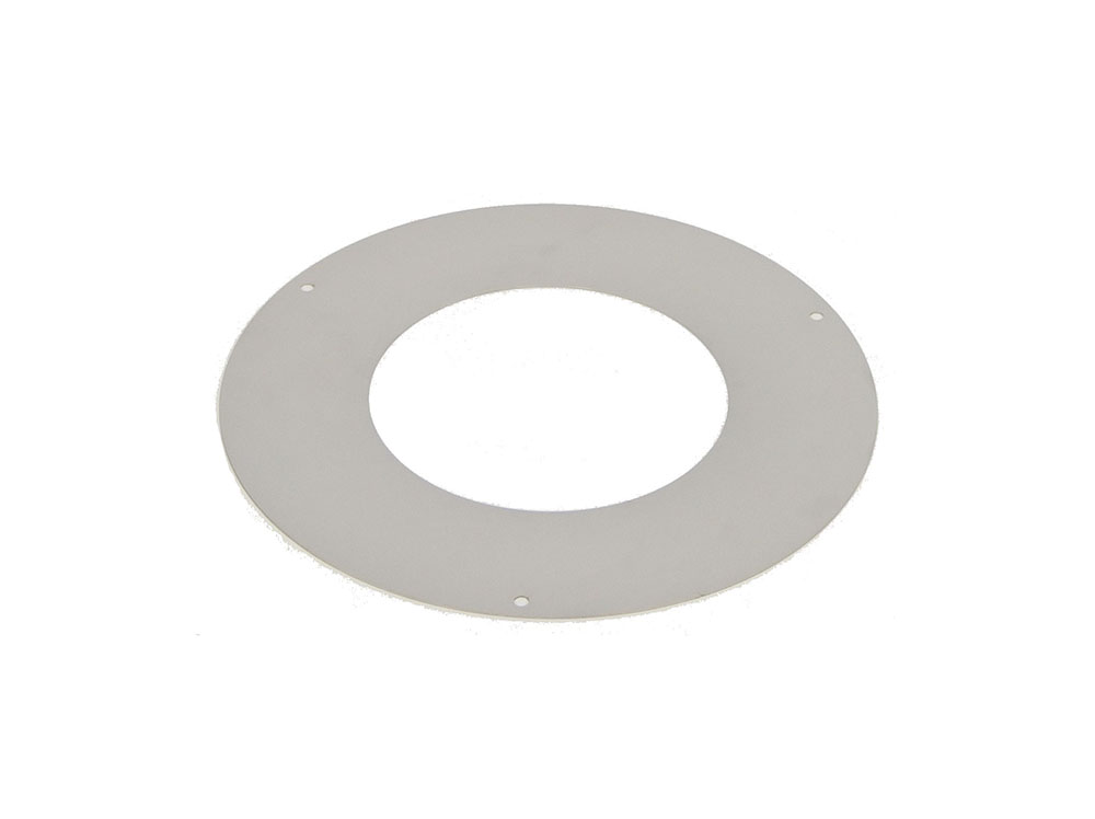 150mm Internal Diameter Metaloterm UED Rosette Smooth Trim Collar (UEDR)