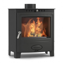 Hamlet Solution 5 Widescreen 4.99kw Multi Fuel Stove - DEFRA APPROVED