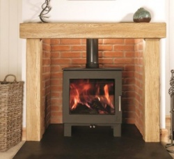 Dean Forge Sherford 5 Slimline Eco Design 2022 Wood Burning Stove