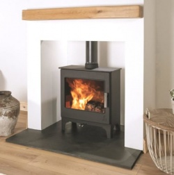 Dean Forge Woodbury Slimline 5 Eco Design 2022 Wood Burning Stove