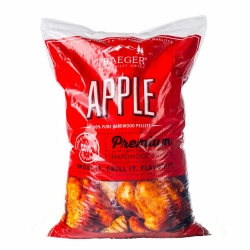 Traeger APPLE Hardwood Pellets (20lb bag) for Wood Fired Pellet Grills / Smokers