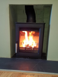 Parkray Aspect 4 Compact, 4.9kw nominal Wood Burning Stove - DEFRA Approved