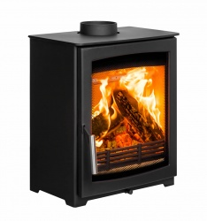 Parkray Aspect Compact 5 - 4.9kw nominal Wood Burning Stove - DEFRA approved
