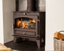Hunter Avalon Slimline 8 Multi Fuel Burning Stove - DEFRA approved - SALE STOCK