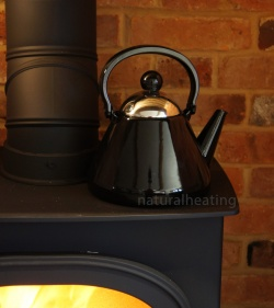 1.9 Litre BLACK Enamel Stove Top Kettle (suitable for all hob types incl. induction)