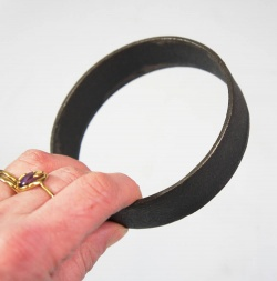 Pair of Hellfire Cast Iron Cooking Rings - 100mm x 25mm