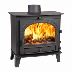 Parkray Consort 5 Slimline, Single Door Multi Fuel Stove - 4.4kw nom DEFRA Approved - SALE STOCK