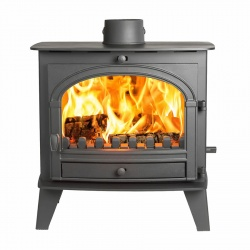 Parkray Consort 9 Slimline, Single Door Multi Fuel and Wood Burning Stove - 4.9kw nominal DEFRA Approved