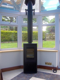 Di Lusso R4 Euro Free Standing Wood burning Stove 2 > 6kw Heat Output to Room - BRAND NEW - CLEARANCE SALE