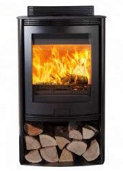 Di Lusso Euro R5 3 > 13kw Freestanding Wood Burning Stove - Curved Sides