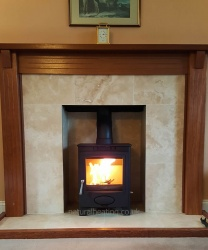 Aarrow Ecoburn Plus 7 Multi Fuel and Wood Burning Stove - 6.1kw Nominal