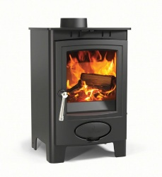 Aarrow Ecoburn Plus 4 Multi Fuel and Wood Burning Stove - 4.5kw Nominal