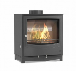 Arada Farringdon Large Wood Burning Stove - 12kw Nominal - DEFRA Exempt