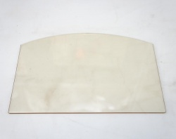 Replacement Glass - Fogo / Fogo Double Sided - MAIN PANEL ONLY - ST246B-12 / ST246BDV 300mm wide x 204mm *shaped*