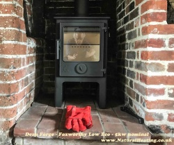 Dean Forge Foxworthy Low 5kw Eco Design 2022 Wood Burning Stove